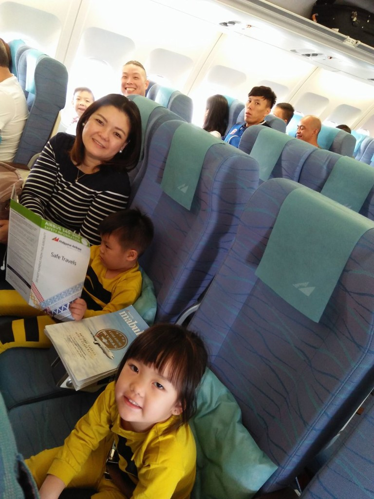All behaved inside the plane.