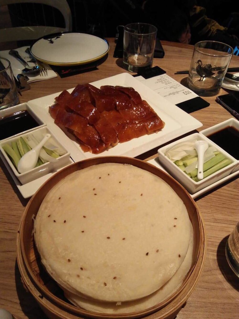 The famous M&C Duck Peking Duck.